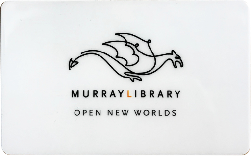The Majestic Murray Library Card